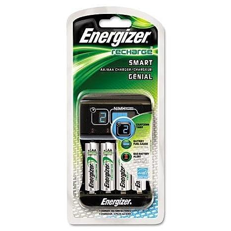 Amazon.com: ENERGIZER CHP4WB4 Cargador inteligente ...