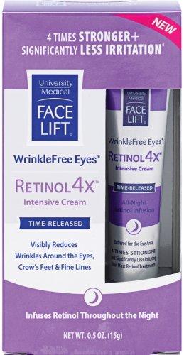 Face Lift WrinkleFree Eyes Retinol 4x, 0.5-Ounce Tube
