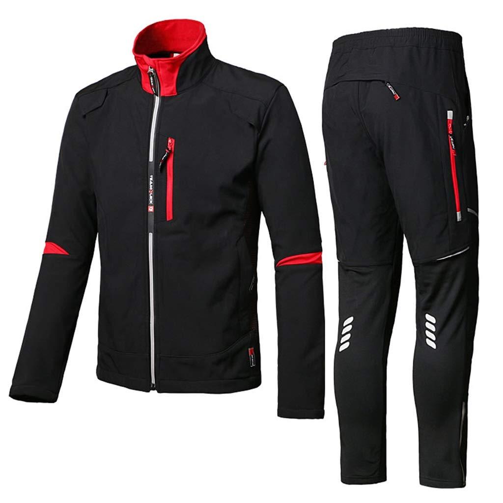 Windproof Rain Suit Warm Unisex Jacket Waterproof Split Type Breathable Top + Reusable Pants Outdoor Hiking/Fishing/Mountaineering