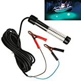 Goture 12V 10.8w 180 LEDs Submersible Fishing Light With 5m/ 5.47yd Cord - Blue