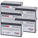 12V 9Ah F2 Replacement Battery Set for Interlight / R&D / International Lighting 55390