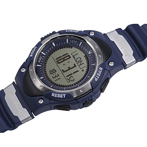 FR826A Outdoor Sport Digital Watches Altimeter Barometer Compass Thermometer Weather Pedometer