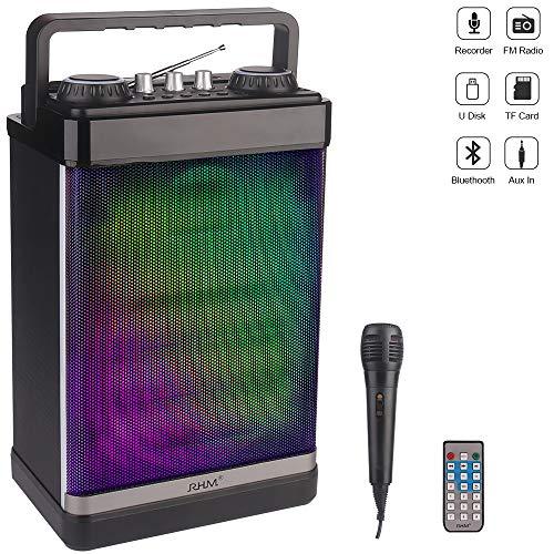 RHM Portable Karaoke Speaker