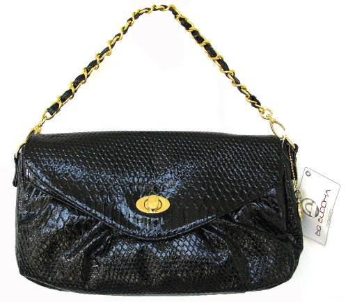 Big Buddha Nova Clutch Bag Black