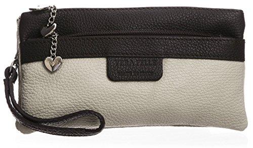 Shop Italian Coffee Handbag Genuine Trim Heart Beige Clutch Womens Leather Big Medium Bag Multipockets Charms O5Ifdxw5q