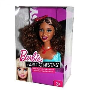 Barbie Fashionistas Swappin Styles - Busto de Artsy