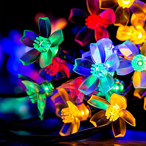 Flower Patio Lights