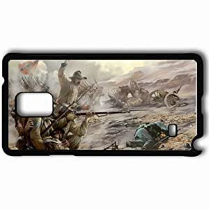 Personalized Samsung Note 4 Cell phone Case/Cover Skin American Conquest Black