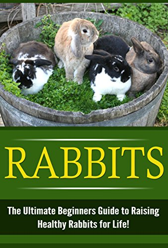 Rabbits: The Ultimate Beginner's Guide to Raising Healthy Rabbits for Life! (Rabbits - Raising Rabbits - Rabbit Care - How to Care for Rabbits - Rabbit Nutrition - Indoor Pets) by [Sutterin, Karen]