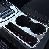 (US) etopmia Car Styling Sticker Cup Holder Decorative Frame Cover Trim fit Audi A4 B8 09-15 A5
