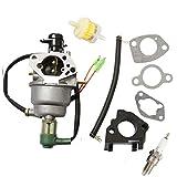 For Champion Power Equipment CPE 41115 5000 6000 Watt Gas Generator Carburetor Auto & Fuel filter & spark plug & intake manifold