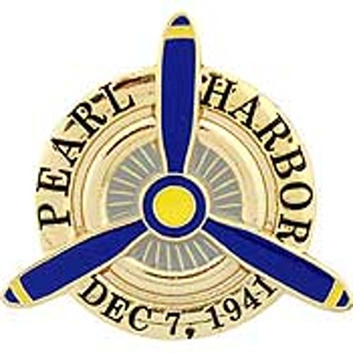 Pearl Harbor 50th Anniversary Pin 1""