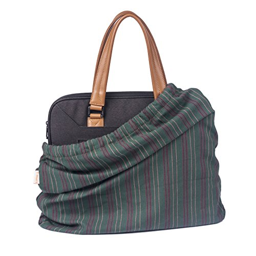 T-mars Cotton, Breathable Dust Proof Bag for Handbag, Shoes, Purse Storage, Drawstring Travel Organizer, Set of 3