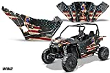 AMRRACING Arctic Cat Wildcat Sport Limited Full Custom UTV Graphics Decal Kit WW2