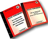 Allis Chalmers WD45 Tractor Service Repair Manuals with Operators and Parts Catalog Set Shop