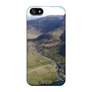 Fashion Tpu Case For Iphone 5/5s- Vagar Far Oer Isls Defender Case Cover