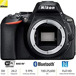 Image of the product Nikon D5600 24 MP DX that is listed on the catalogue brand of Nikon.