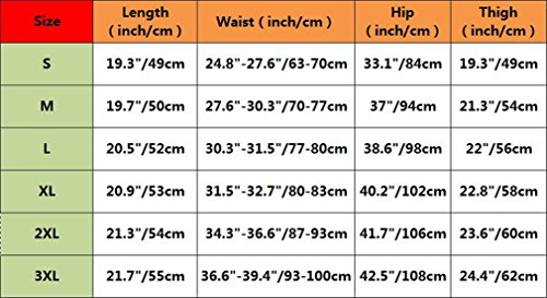 Bromeo Hatsune Miku Anime Hombre Sport Short Jogging Pantalones cortos 130