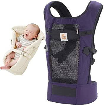 Amazon Com Ergobaby Bundle 2 Items Purple Performance Ventus