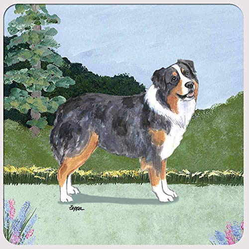Zeppa Studios Australian Shepherd Coasters - Set of 4