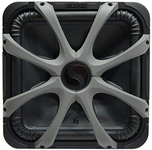 Kicker L7S15 Car Audio Solo-Baric 15 Subwoofer Square L7 ...