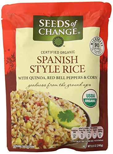 SEEDS OF CHANGE RICE SPANISH STYL QUINOA BPPR, 8.5 OZ Pack of 3 (Seeds Of Change Quinoa And Brown Rice)