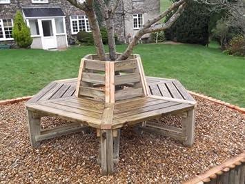 Tree Bench   Heavy Duty Hexagonal