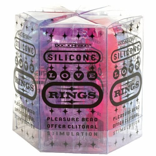 """Doc""""s SILICONE RINGS 6PC ASSORTED"""