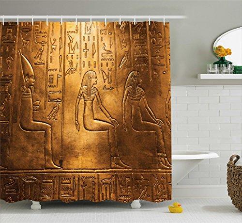 Ambesonne Collection Hieroglyphics Logographic Alphabetic