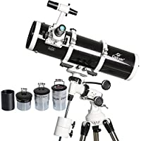 Gskyer Telescope, 130EQ Professional Astronomical Reflector Telescope, German Technology Scope
