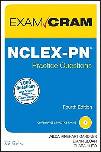 Nclex pn practice questions exam cram 4th edition 9780789753144 nclex pn practice questions exam cram 4th edition 9780789753144 medicine health science books amazon fandeluxe Gallery