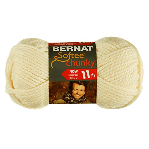 Softee Chunky Yarn-Natural