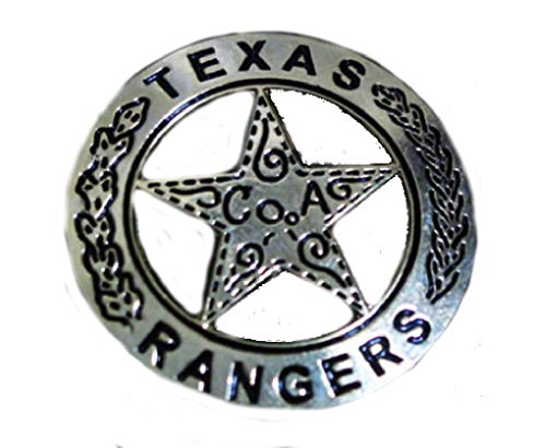 Texas Ranger Jacket Vest hat Pin 2 inch Pin]()