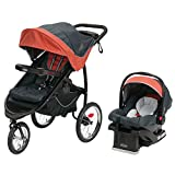 Graco FastAction Fold Jogger Click Connect Travel System, Rixen