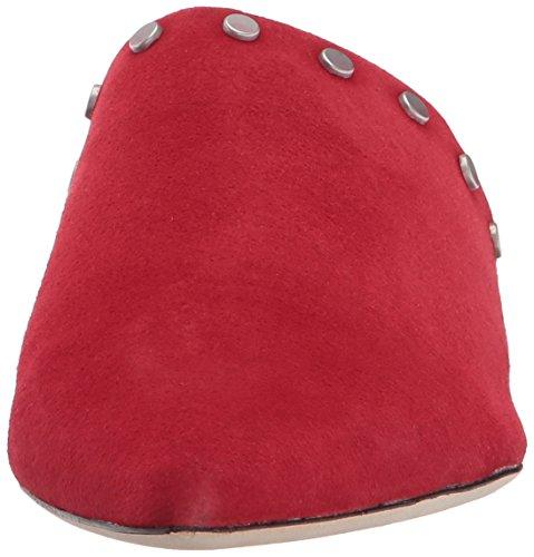 Camoscio Donne Rosso Bernardo Annie Delle Mulo waIqwH