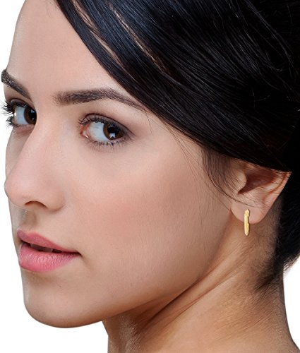 Miore - MSIL802E - Boucles d'Oreille - Femme - Or Jaune 18 Cts 750/1000 1.0 Gr
