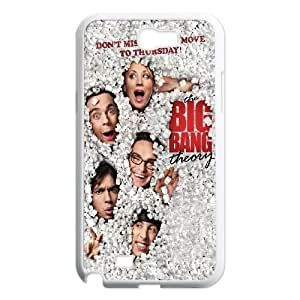 Samsung Galaxy N2 7100 Cell Phone Case White Big Bang Theory Poster JNR2053929