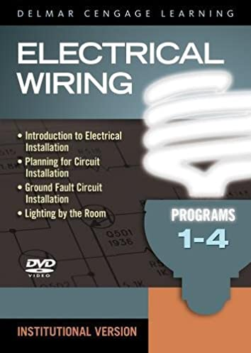 electrical wiring dvd set 1 4 delmar 9781435495326 amazon com rh amazon com residential electrical wiring dvd Electrical Outlet Wiring Diagram