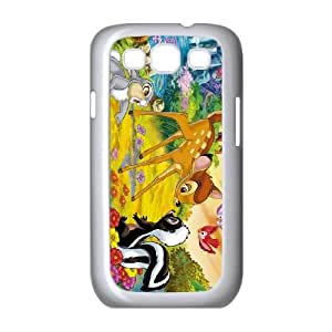 Bambi Samsung Galaxy S3 9300 Cell Phone Case White Phone Accessories JV277596