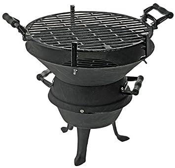 BBQ Parrilla de hierro fundido Brasero Barbacoa de carbón