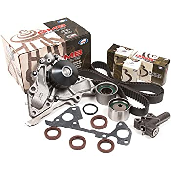 Evergreen TBK323HWP Fits 00-06 Kia Hyundai 3.5L DOHC Timing Belt Kit GMB Water Pump