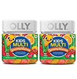 Olly Kids Multivitamin Gummy! 70 Gummies Sour Fruity Punch Flavor! Blend of Daily Vitamins and Minerals! Help Fill Any Nutritional Gaps and Promote Overall Wellness! Choose Your Pack! (2 Pack)