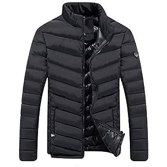 Men's Lightweight Short Parka Winter Outwear Puffer Down Jacket coat