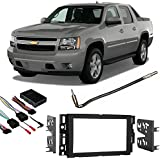 Fits Chevy Avalanche 07-13 Double DIN Stereo Harness Radio Install Dash Kit
