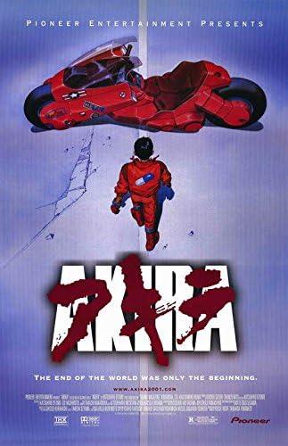 A LicensedNewUSA AKIRA 11x17 Movie Poster
