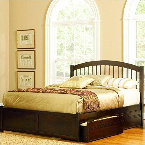 Atlantic Furniture AP9442004 Windsor Platform Bed