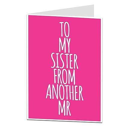 Tarjeta de felicitación de cumpleaños para paso hermana ...