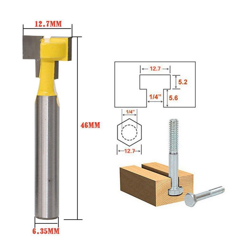 Yunso 40 Stuecke Mini Bohrer HSS Bit 0.5mm-2.0mm Zylinderschaft PCB verdrehter Bohrer Set