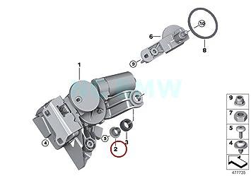 BMW - Motor de limpiaparabrisas trasero para BMW: Amazon.es: Coche y moto