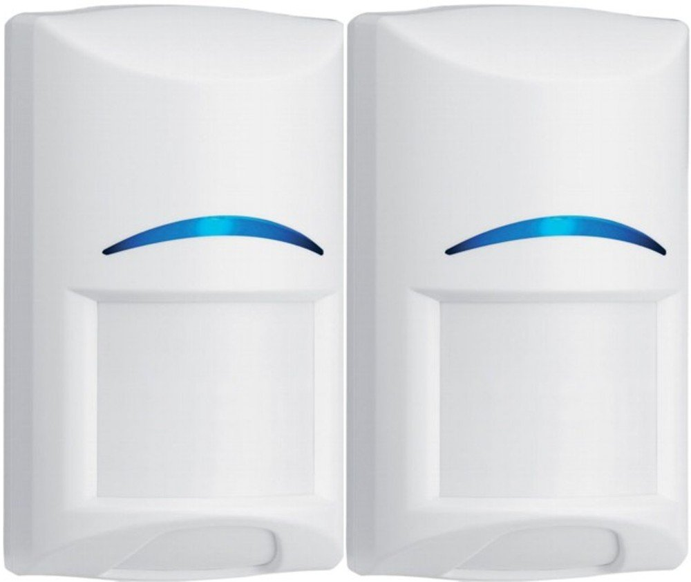 Bosch ISC-BPR2-W12 Blue Line Gen2 PIR Motion Detector (Pack of 2), Wall to Wall Coverage, Dynamic Temperature Compensation, Flexible Mounting Height